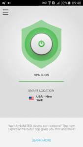 expressvpn android connecte