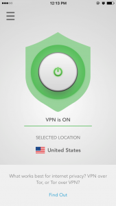 expressvpn ios connecte