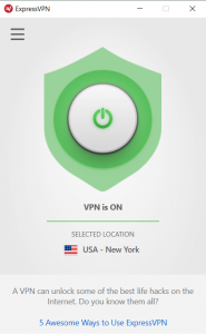 expressvpn windows connecte