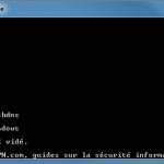 Comment vider le cache DNS