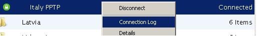 Test et avis de LeVPN : connexion et déconnexion