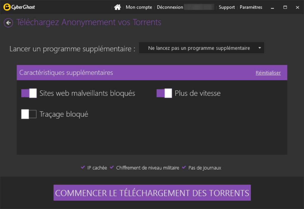cyber ghost vpn telechargement torrents