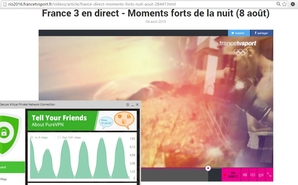 Jeux Olympique france tele streaming