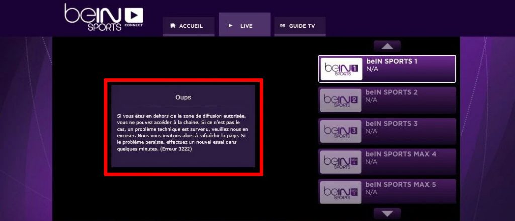 regarder beIN Sport en streaming