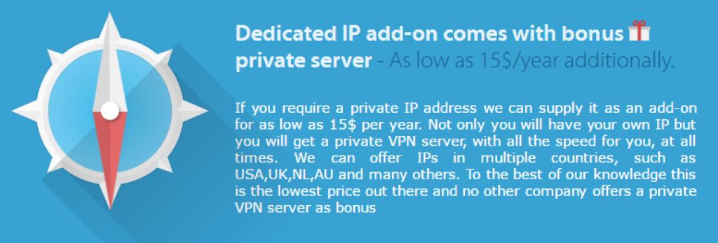Avis VPNArea : ip dédié