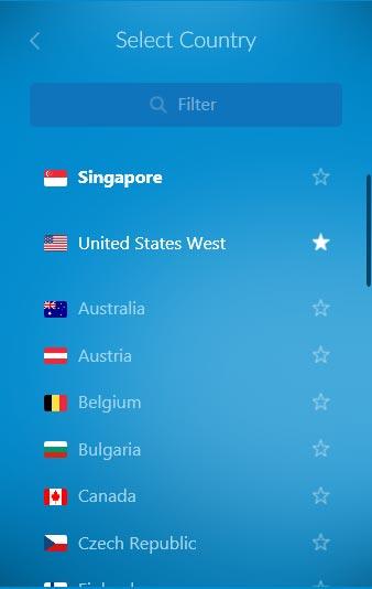 zenmate liste des pays et serveurs