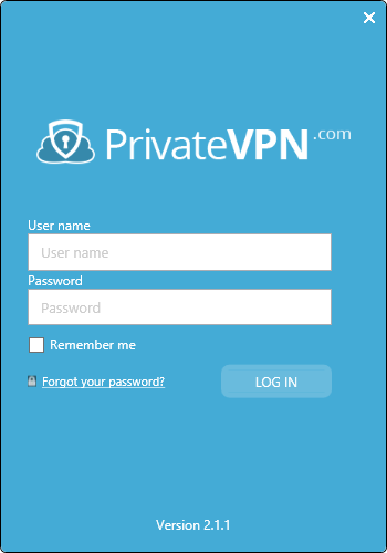 privatevpn interface simple