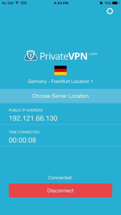 privatevpn ios