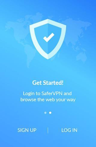 safervpn android accueil