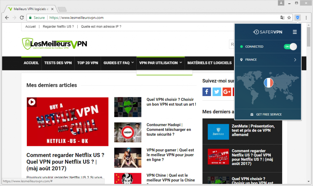safevpn extension chrome