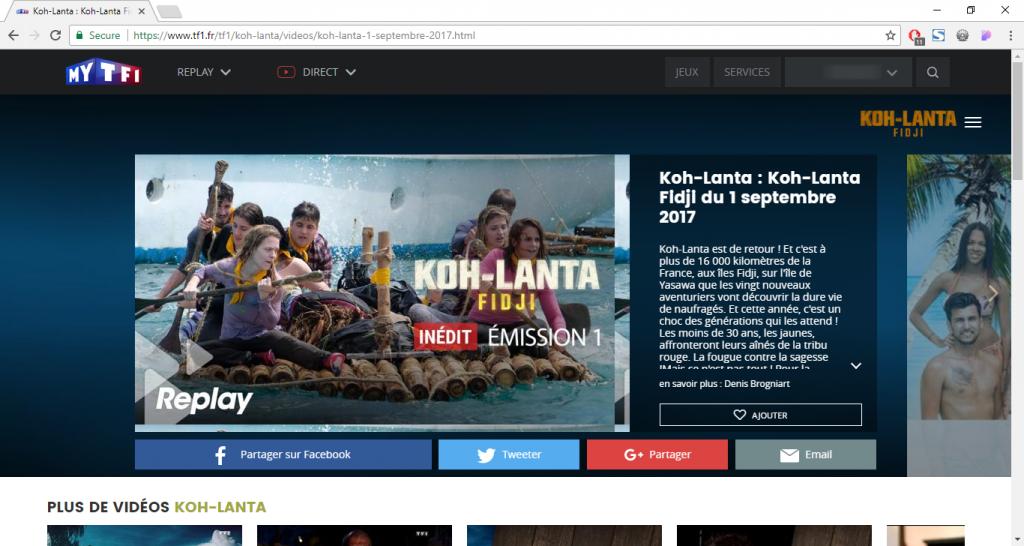 regarder Koh-Lanta depuis l'étranger
