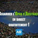 open d'australie en direct