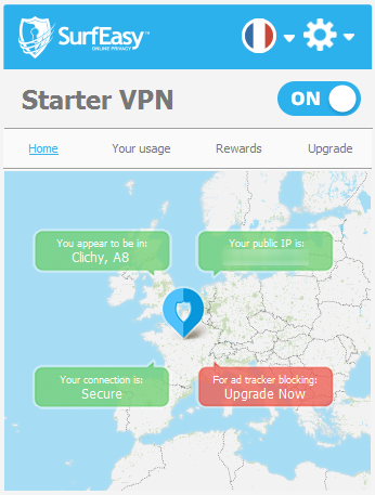 surf easy vpn connecte
