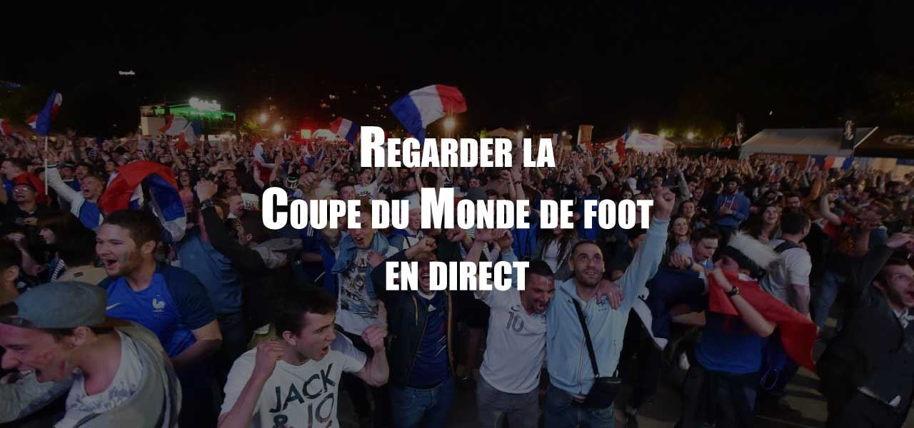 coupe du monde en direct