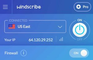 windscribe vpn mac
