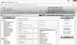 recherche avancée zone-telechargement.ws