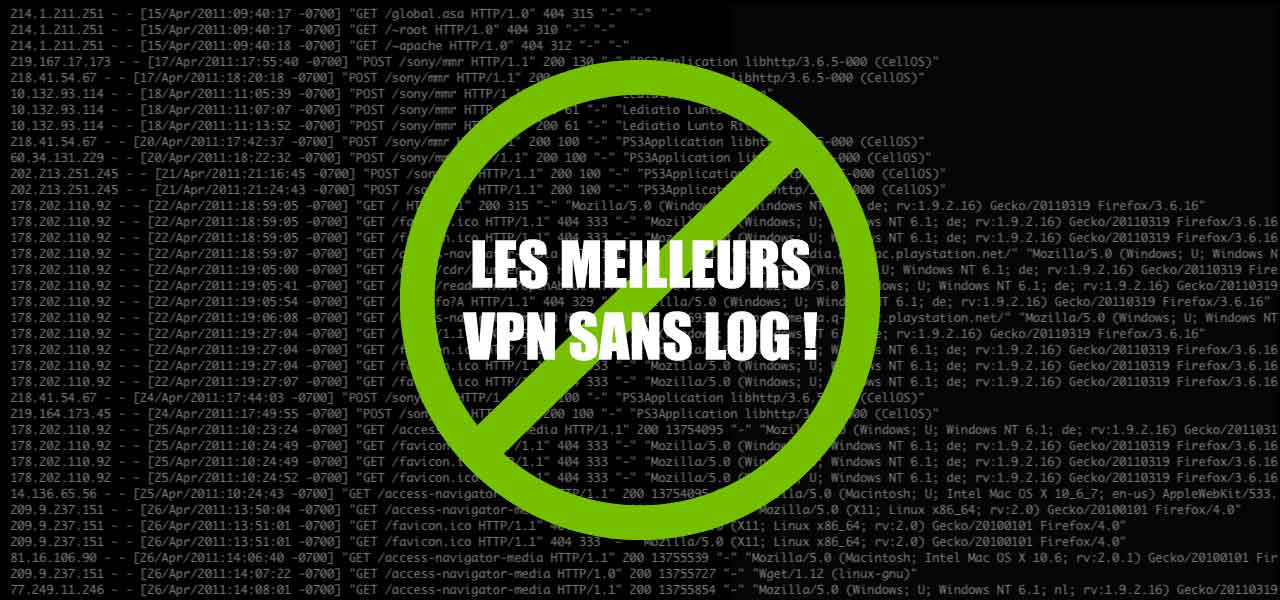 meilleur vpn sans log