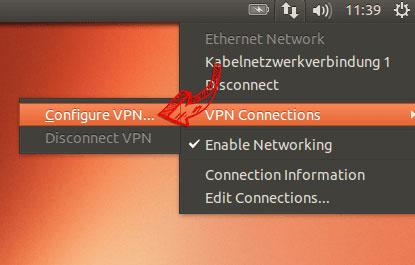 configuration vpn pour ubuntu