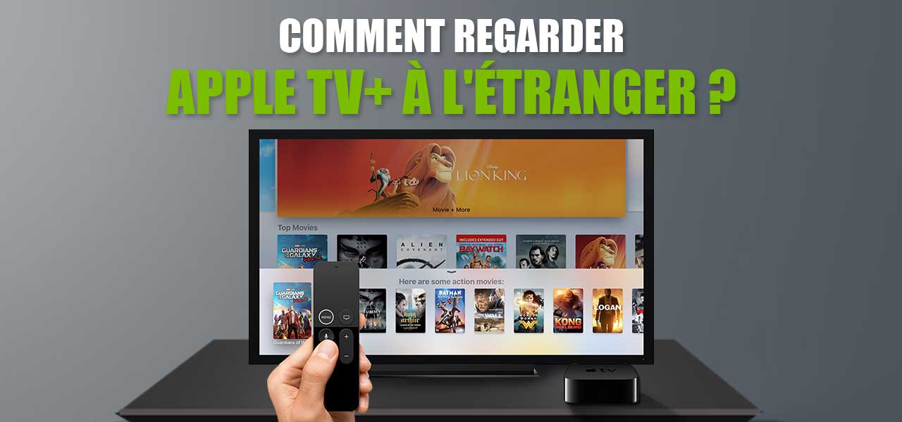 regarder apple tv + streaming