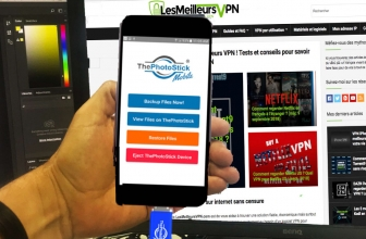 Conservez toutes vos photos & vidéos avec ThePhotoStick Mobile !