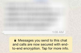 WhatsApp introduit le chiffrement de bout-en-bout de ses messages