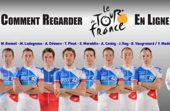 Comment regarder le Tour de France depuis l'étranger?