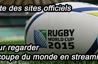 Sites officiels sur lesquels suivre le mondial de rugby en streaming